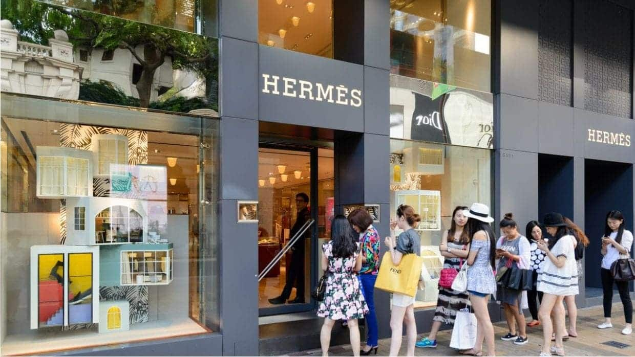 Hermes Says Sales in China Still Going Strong