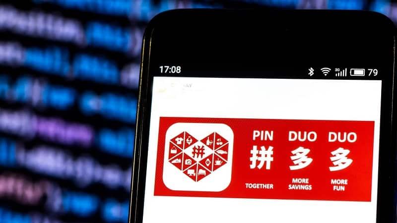 Pinduoduo e commerce Chinese