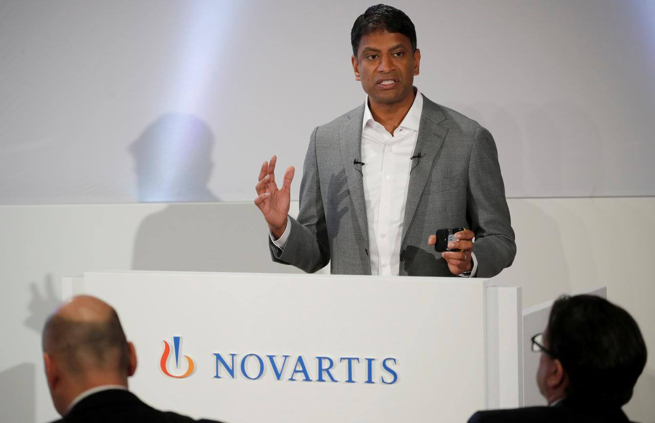 US Rebate Plan Gets the Backing of Novartis CEO