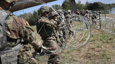 US Troops to Cover Mexican Border